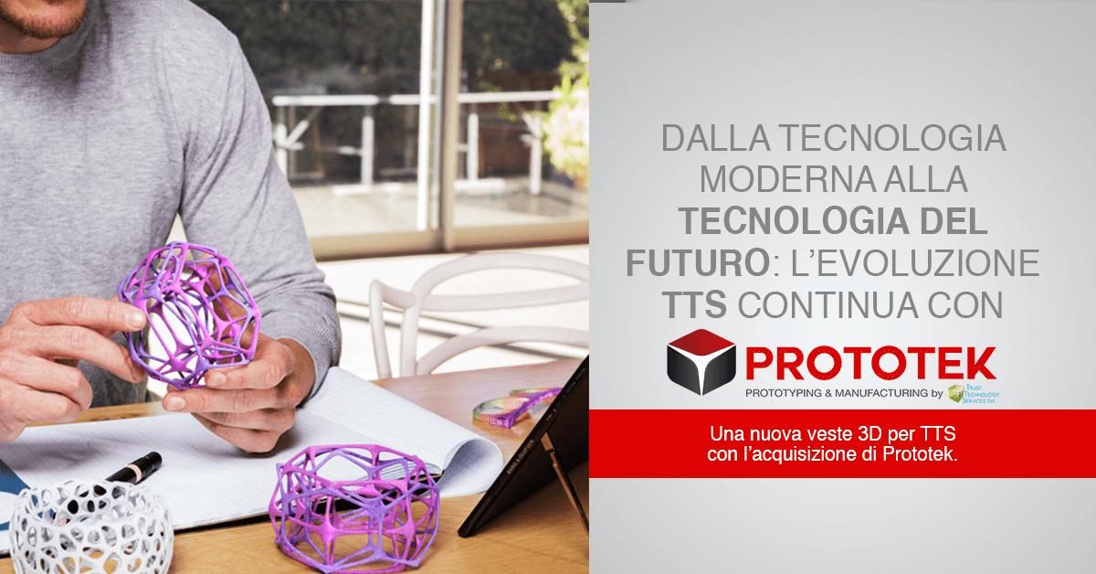 TTS Acquisisce Prototek