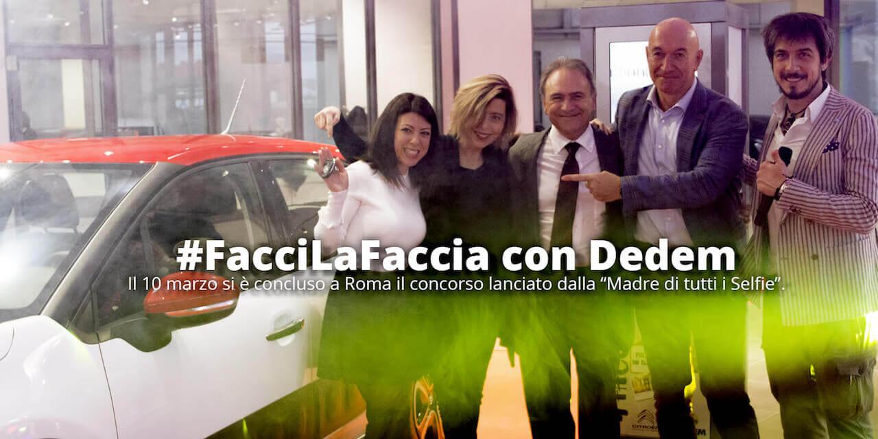 Premiazione Concorso FaccilaFaccia