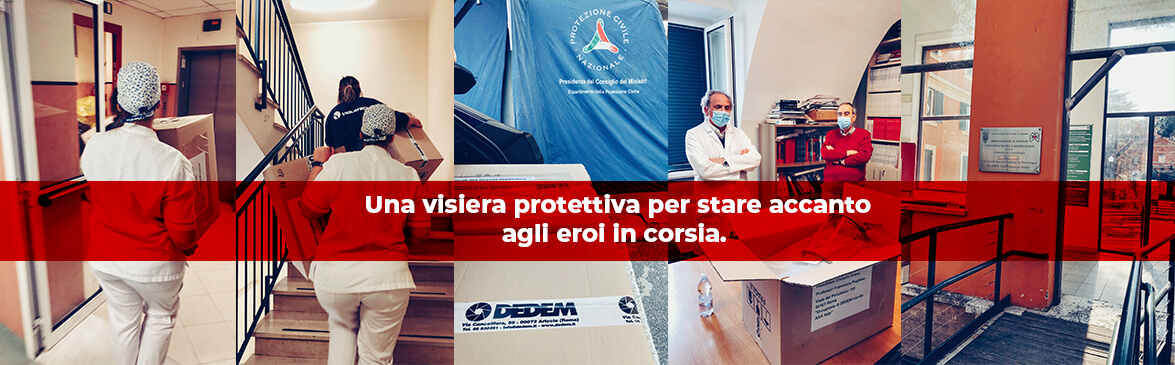 Stampa Visiere Protettive